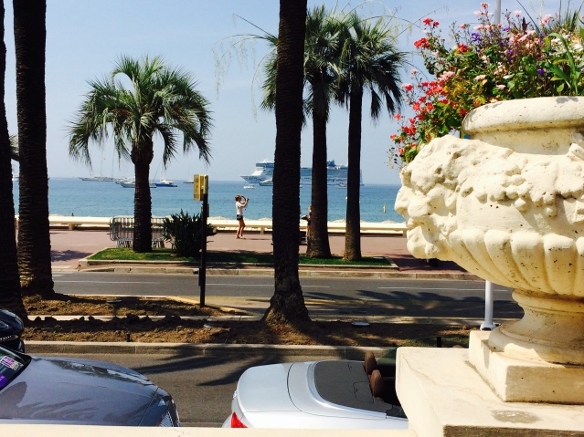 La Croisette street Cannes
