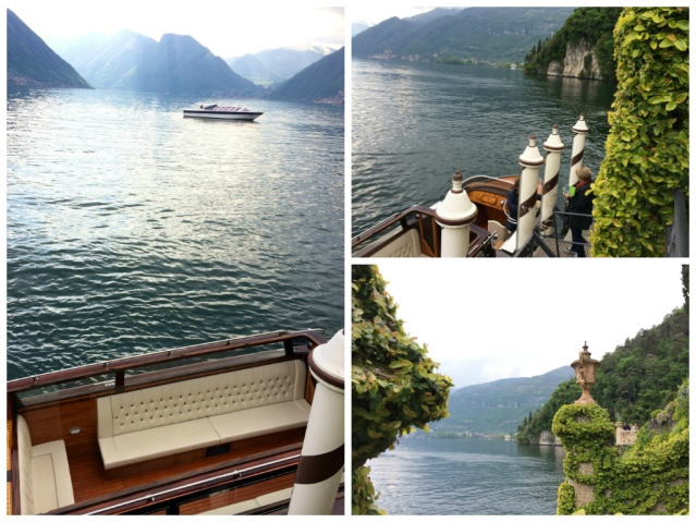 Villa Balbianello-stunning views with boat