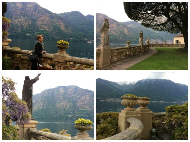 Villa Balbianello- garden statues