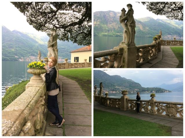 Villa Balbianello-garden statues