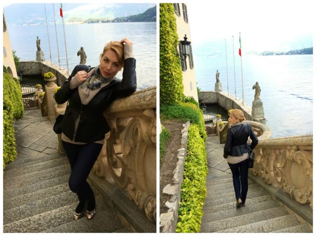 Villa Balbianello-stone stairs