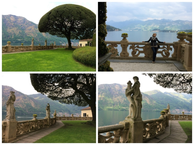 Villa Balbianello-garden with trees