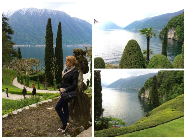Villa Balbianello-garden and views over lake