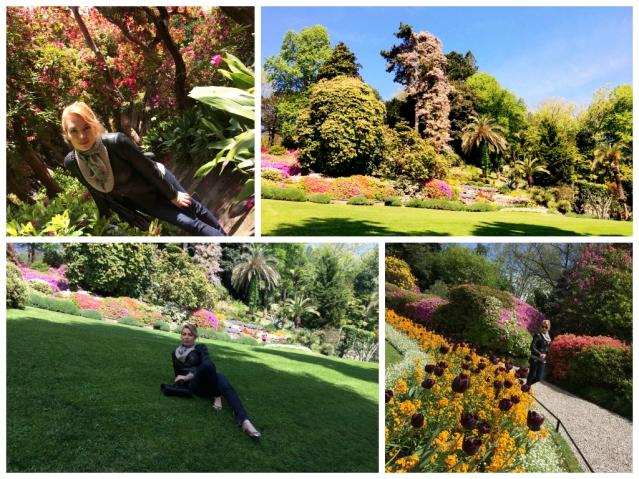 Villa Carlotta gardens