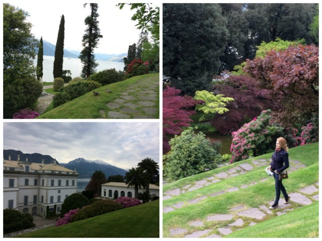 Villa Melzi-walk through the gardens
