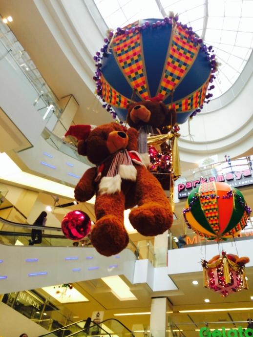 decorations in Kuala Lumpur Mall