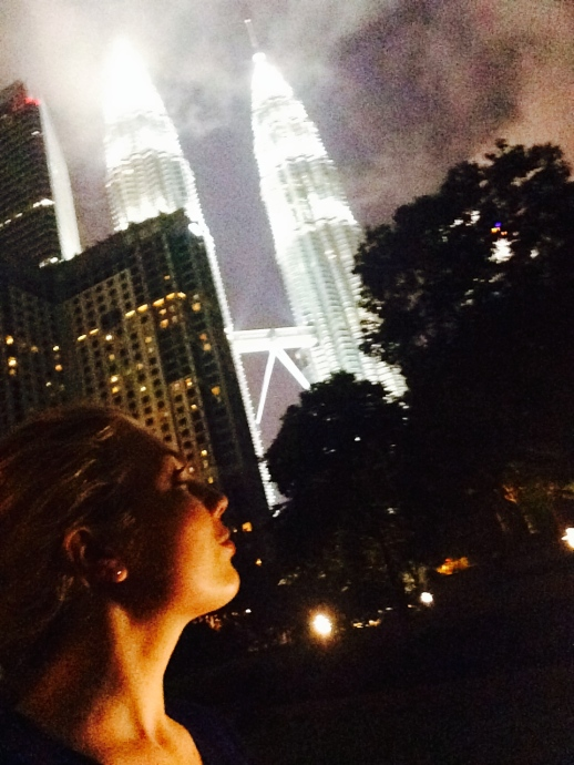 gazing at the Twin Towers KL