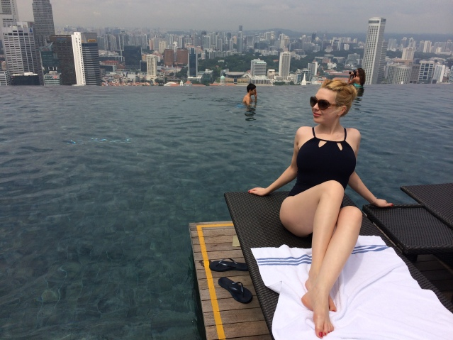 Sky pool Marina Bay Sands Singapore