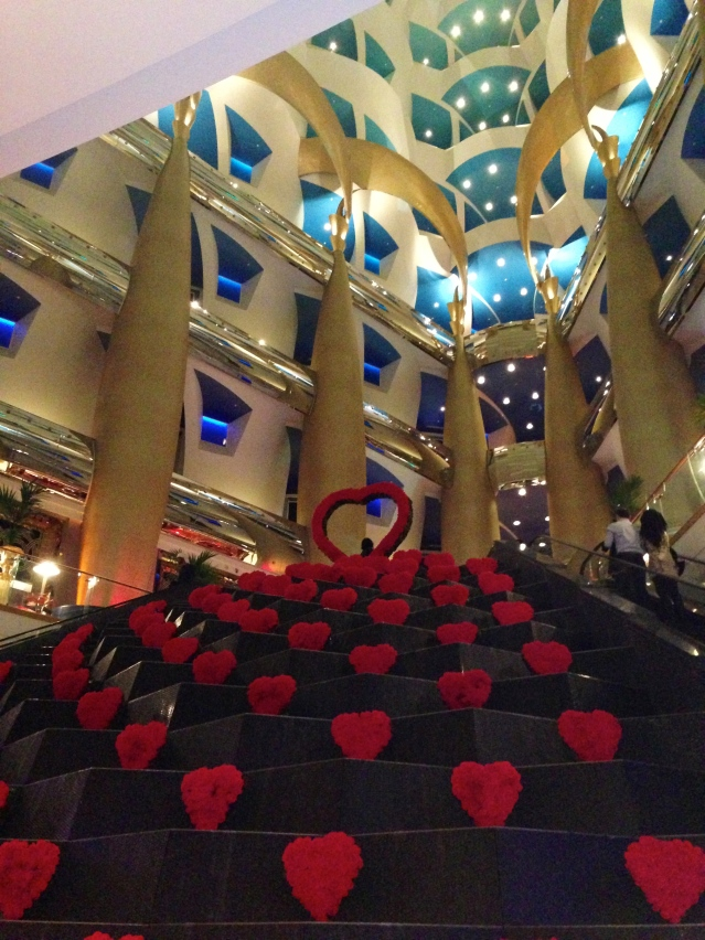 Valentines Day at Burj Al Arab